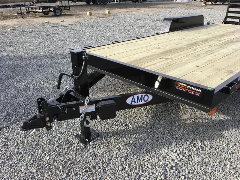 2018 AMO 7x18' Equipment Trailer 12000# GVW