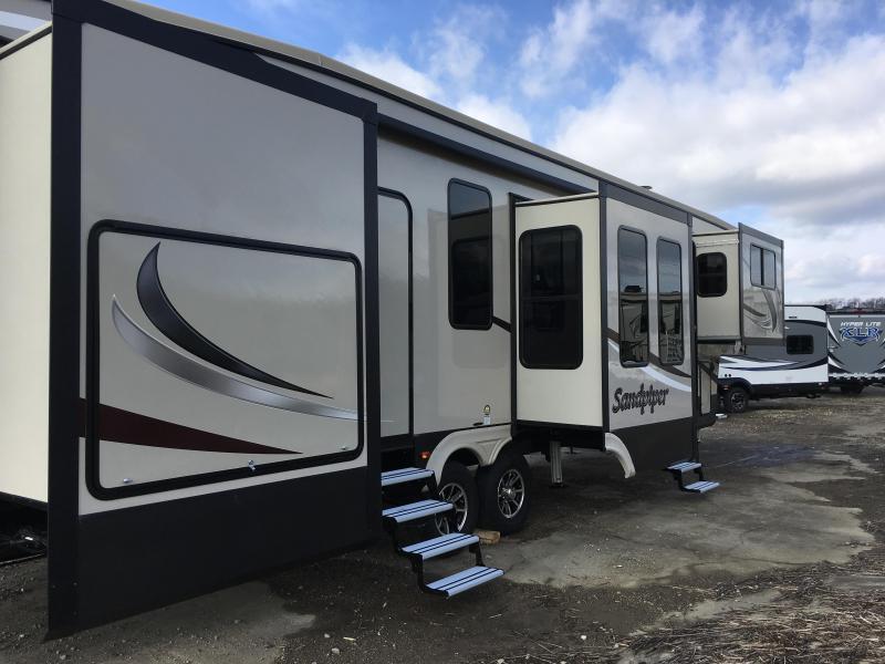 2018 Forest River Inc. SANDPIPER 379FLOK Fifth Wheel