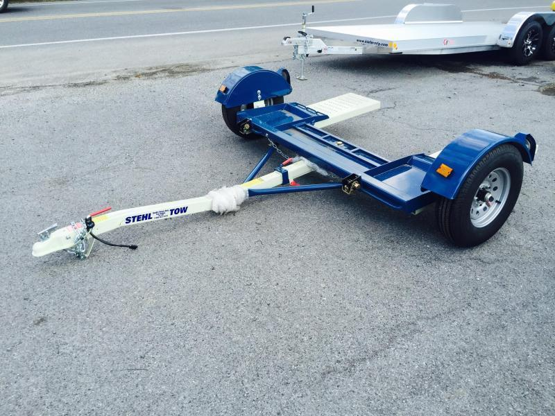 2017 Stehl Tow Dolly WITH BRAKES 2999# GVW With Straps & Ratchet LED's Radials