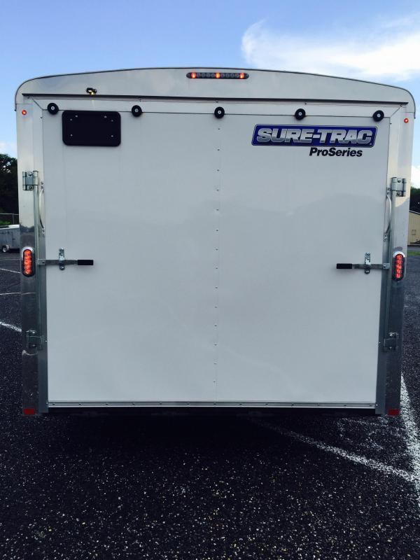 2017 Sure-Trac STRCH Commercial Round Top Enclosed Car Hauler 8.5' x 24'