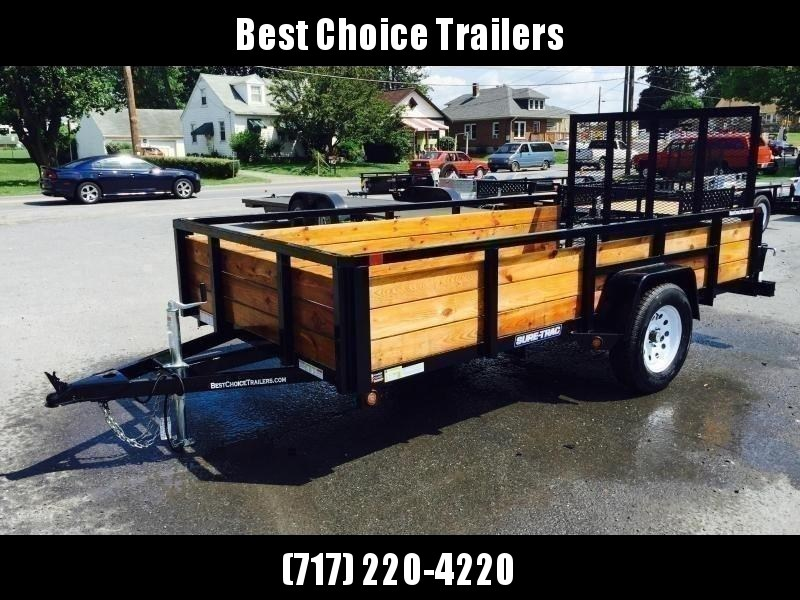 2020 Sure-Trac 5x8 3-Board High Side Tube Top Utility Trailer 2990# GVW