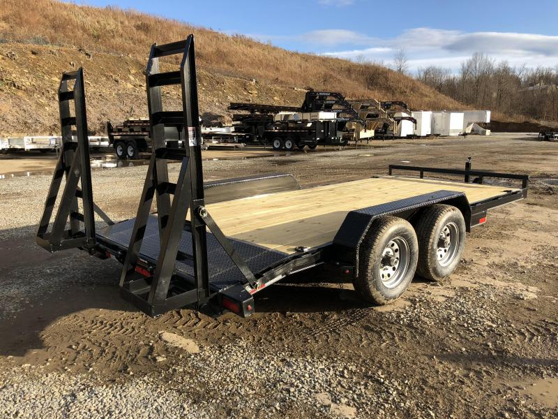 2018 Lamar 7x16' Equipment Trailer 9990# GVW