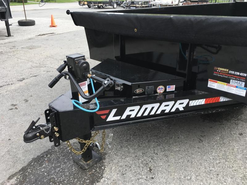 2018 Lamar 7x16 Dump Trailer 14000# GVW