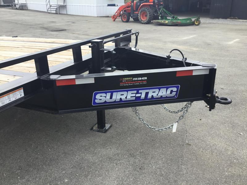 2017 Sure-Trac 102x22' Flatbed Deckover 17600# GVW