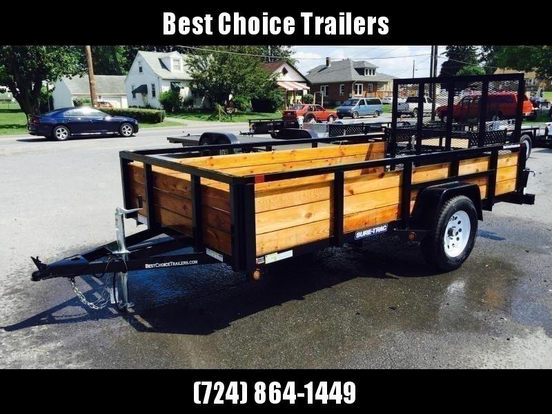 2019 Sure-Trac 5x8 3-Board High Side Tube Top Utility Trailer 2990
