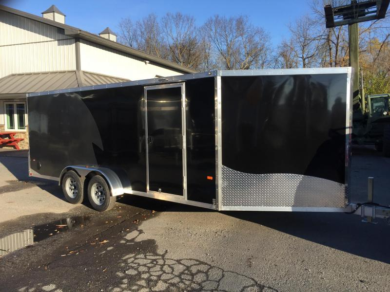 2017 Neo 7x22 NASF Aluminum 3-place Enclosed Snowmobile Trailer Promo 1+