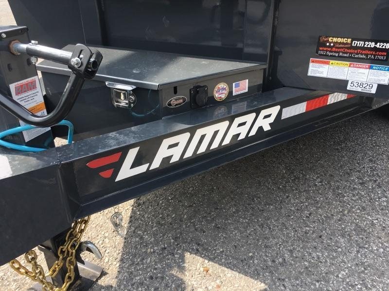 2018 Lamar 7x14' Dump Trailer 14000# GVW