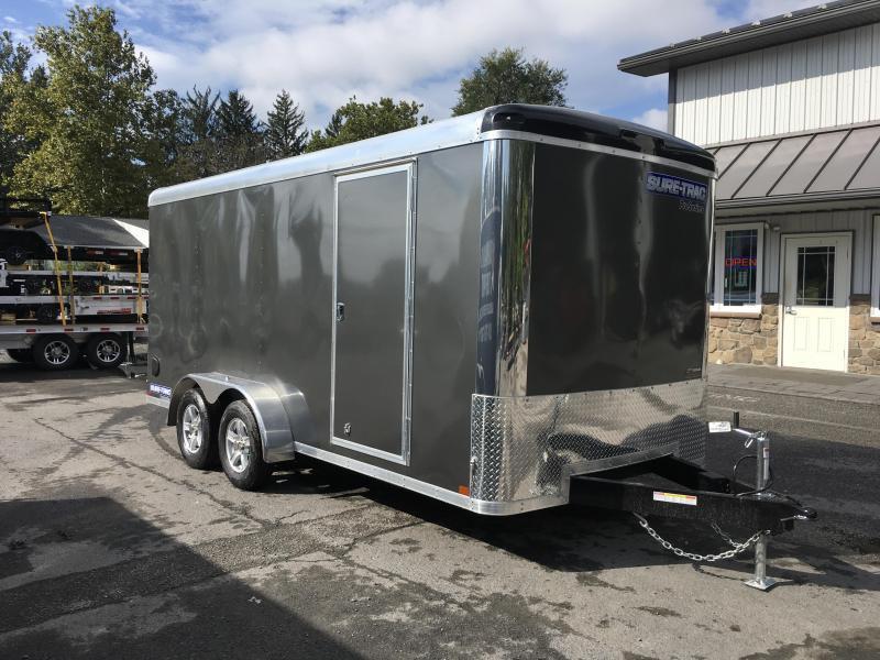 2018 Sure-Trac 7x16' Enclosed Cargo Trailer 7000# GVW - STR8416TA