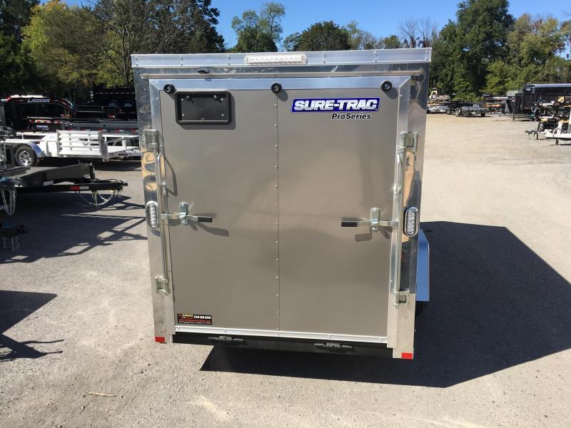2018 Sure-Trac 6x12' STW Enclosed Cargo Trailer 2990# GVW