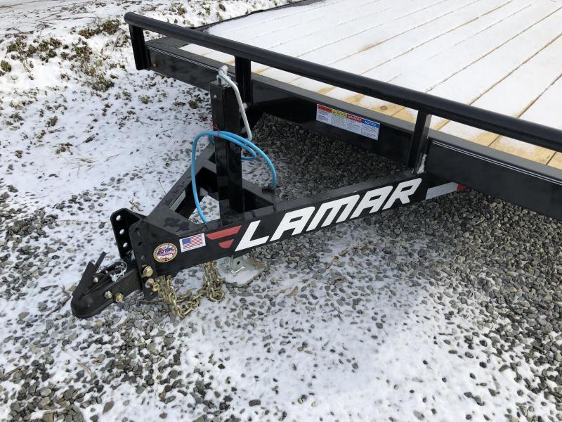 2018 Lamar 102x20' CC10 Car Trailer 9990# GVW - DRIVE OVER FENDERS