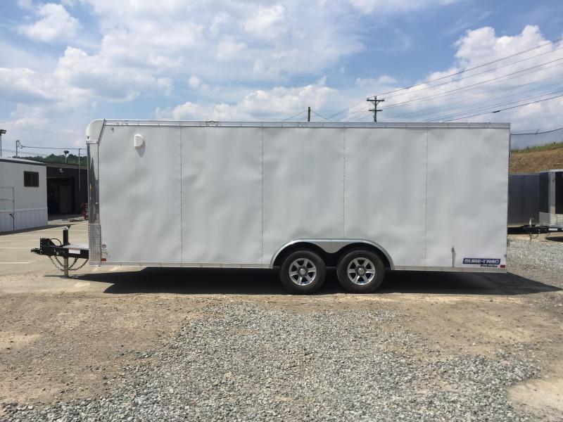 2017 Sure-Trac 8.5x20 Contractor Pro Enclosed Cargo Trailer 9900# GVW