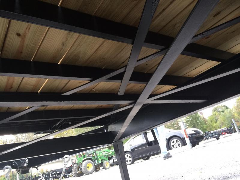 2017 Sure-Trac 102x20+5 15000# Gooseneck Beavertail Deckover Trailer PIERCED FRAME