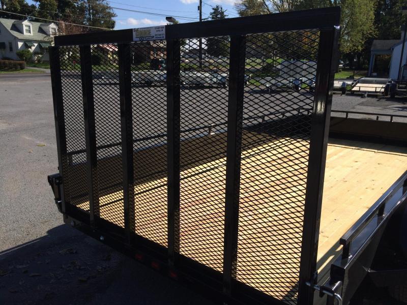 2018 Sure-Trac 5x8' Steel High Side Landscape Utility Trailer 2990# GVW