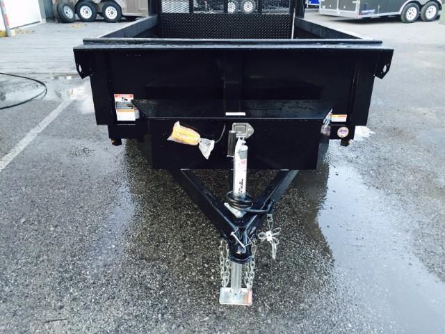 2018 Sure-Trac 5x8' Dump Trailer 5000# GVW - LANDSCAPE GATE