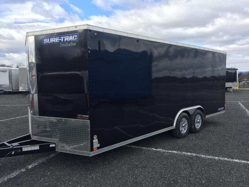 2017 Sure-Trac STWCH Pro Series V-Nose Enclosed Car Hauler 8.5' x 24'