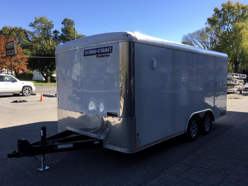 2018 Sure-Trac 8.5x16' Enclosed Cargo Trailer 7000# GVW - VARIOUS OPTIONS