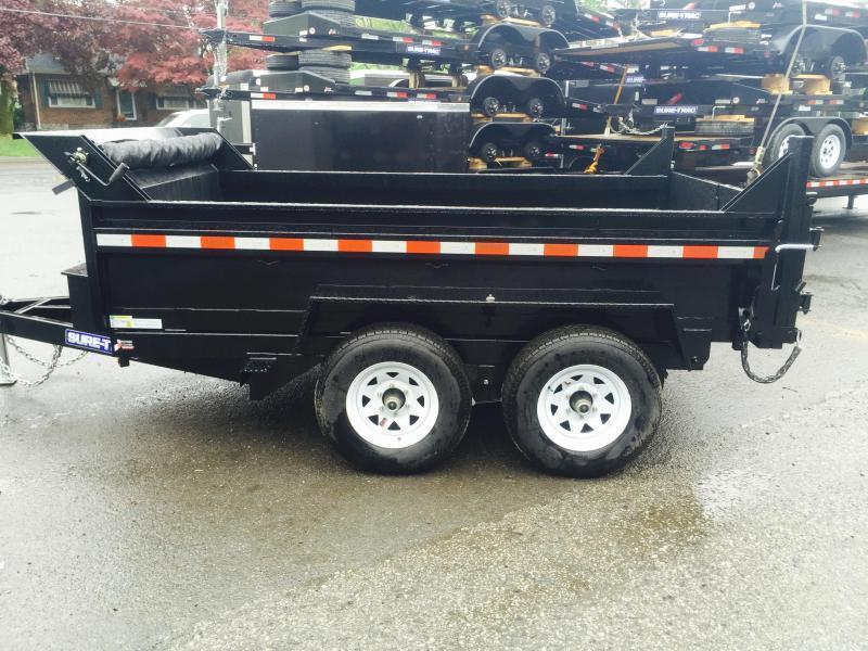2018 Sure-Trac 6x10' 7000# Low Profile Dump Trailer