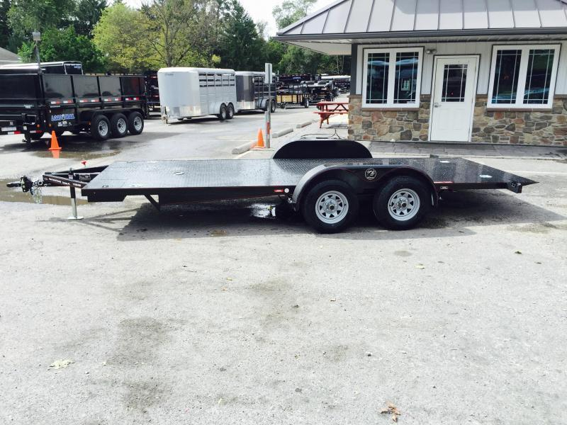 "2017 Kwik Load 7x20' 7000# ""Texas Rollback"" Low Angle Car Trailer"
