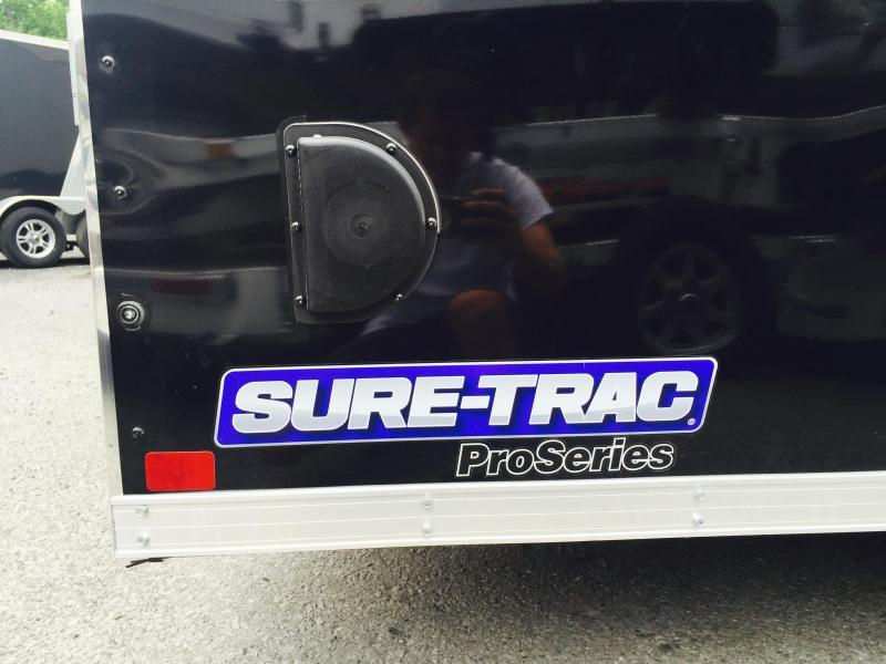 2018 Sure-Trac 8.5x16' 7000# Commercial Enclosed Cargo Trailer V-NOSE RAMP DOOR