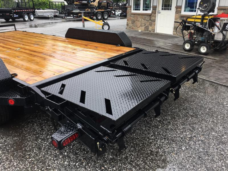 2017 Norstar Ironbull 7X20' Equipment Trailer 14000# GVW - RAMPAGE RAMPS
