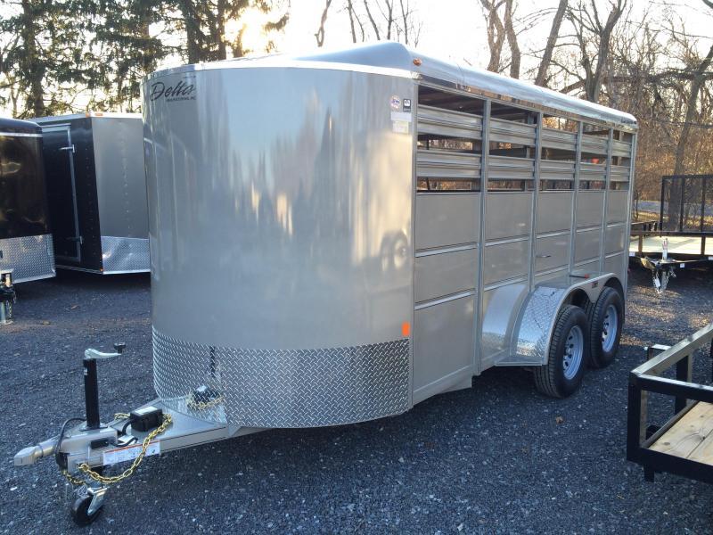 2017 Delta 500ES 16' Livestock Trailer