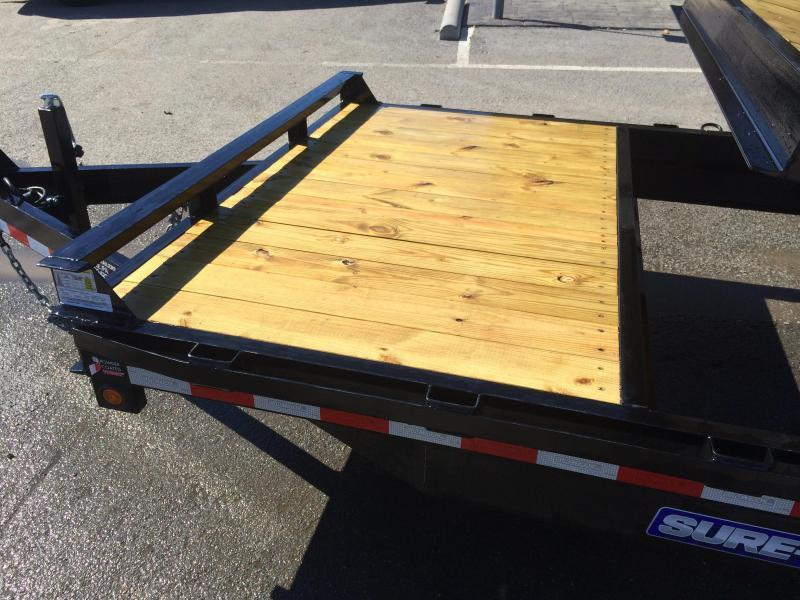 2017 Sure-Trac Tilt Bed Equipment Trailer 7'X18+4' 14000#