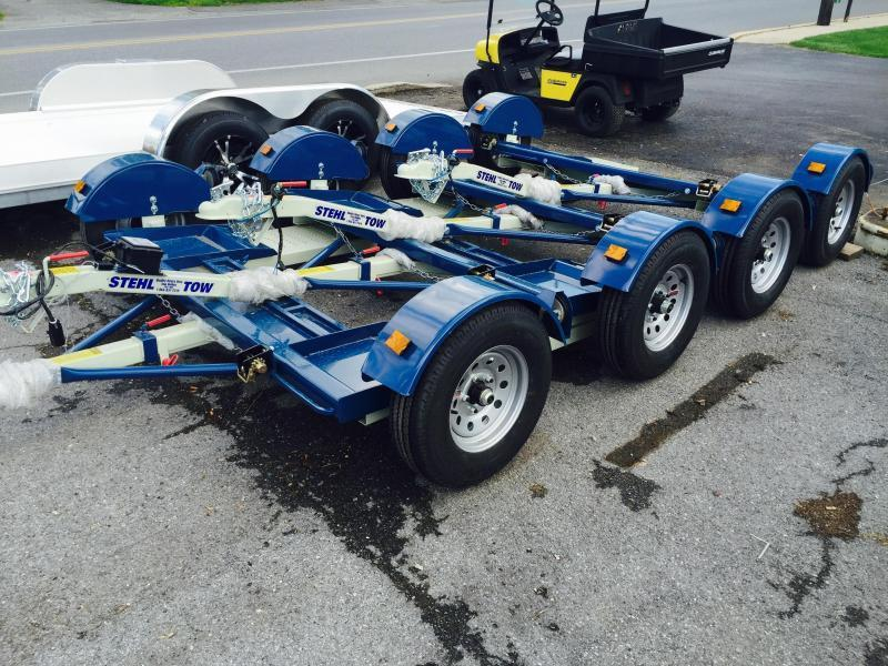 2017 Stehl Tow Dolly Idler 2999# GVW With Straps & Ratchet LED's Radials