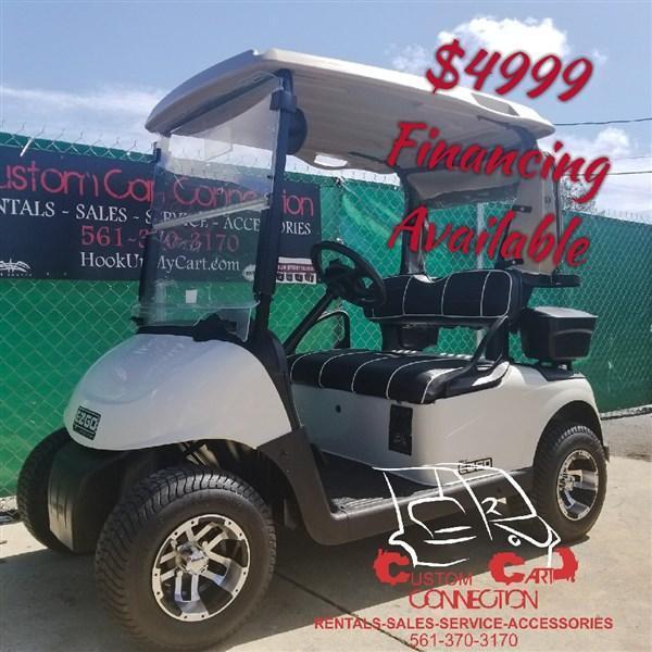 2015 EZ GO RXV GOLFER UNIT | Custom golf carts and golf cart custom Rxv Golf Cart Custom Paint Html on