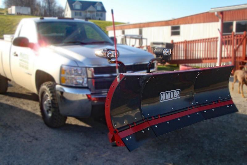 NEW Hiniker 8' High Performance Poly Scoop w/ Torsion Trip Edge Snow Plow