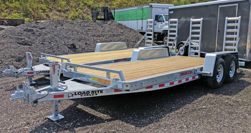 NEW 2018 Load Rite 18' HD Equipment Hauler (NO DOVE)
