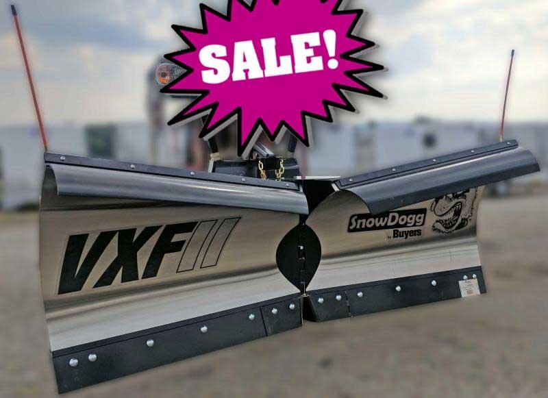 SALE!!! NEW SnowDogg 9.5' II V-Flare Stainless Steel Snow Plow
