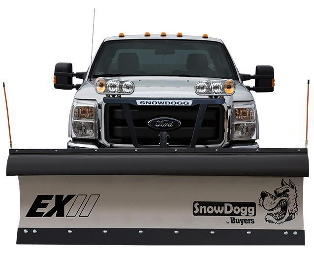 NEW SnowDogg 8' II Extreme Duty Stainless Steel Snow Plow