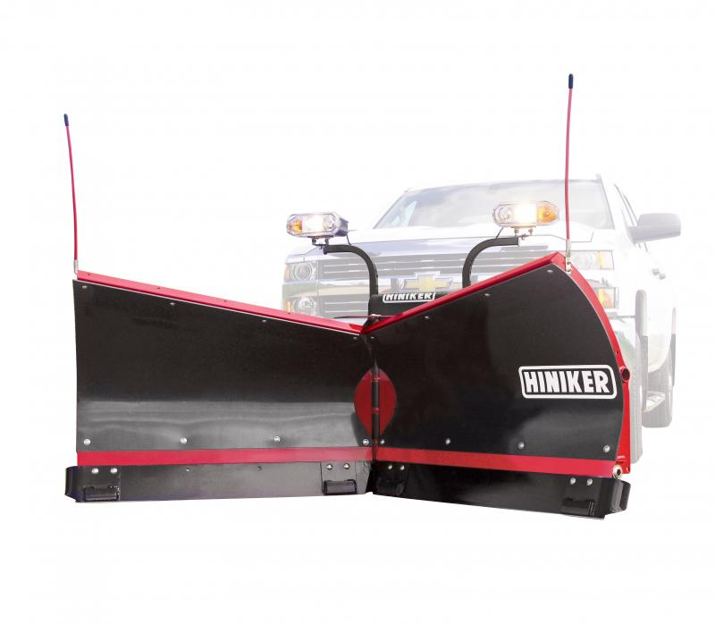 NEW Hiniker 8.5' Poly V-Plow w/ Torsion Spring