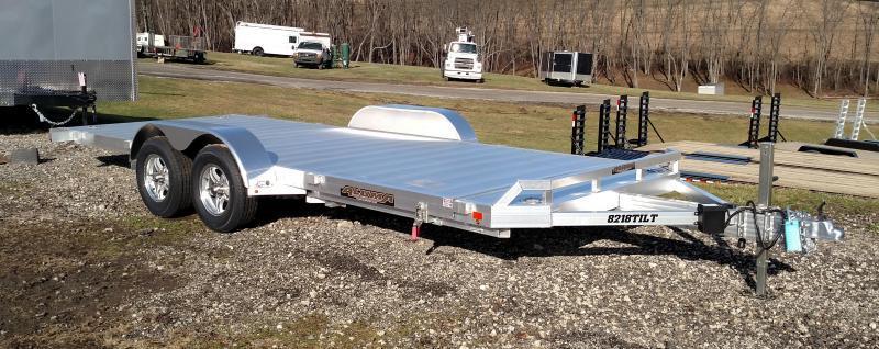 NEW 2019 Aluma 18' Aluminum Tilt Utility Trailer w/Aluminum Wheels