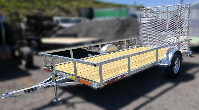 NEW 2018 Load Rite 6X14 Utility Trailer w/Spring Assist Gate
