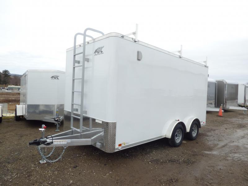 2018 ATC 7.5 x 16 Contractor Package Enclosed Cargo Trailer