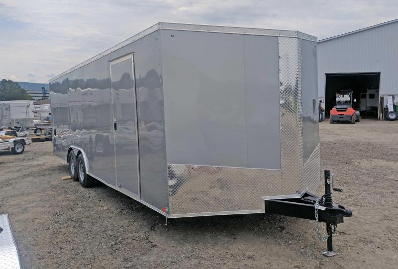 NEW 2018 Cargo Express 8.5 x 24 XLW Sloped V-Nose Car Hauler w/ Ramp Door