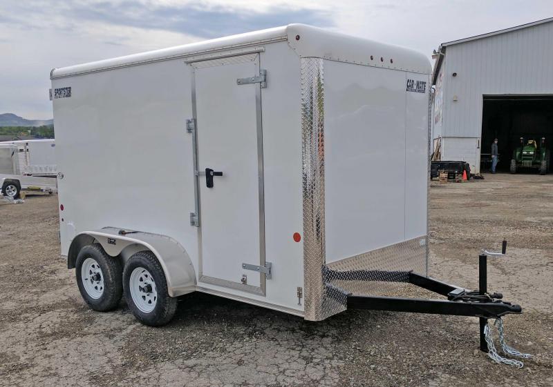 NEW 2018 Car Mate 6X12 HD Sporster Cargo w/ Barn Doors & 6