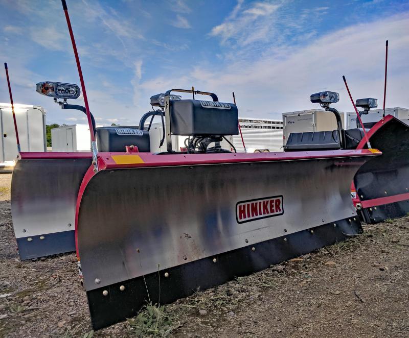 NEW Hiniker 7.5' Tilt-Lift Stainless Steel Snow Plow-2 LEFT IN STOCK