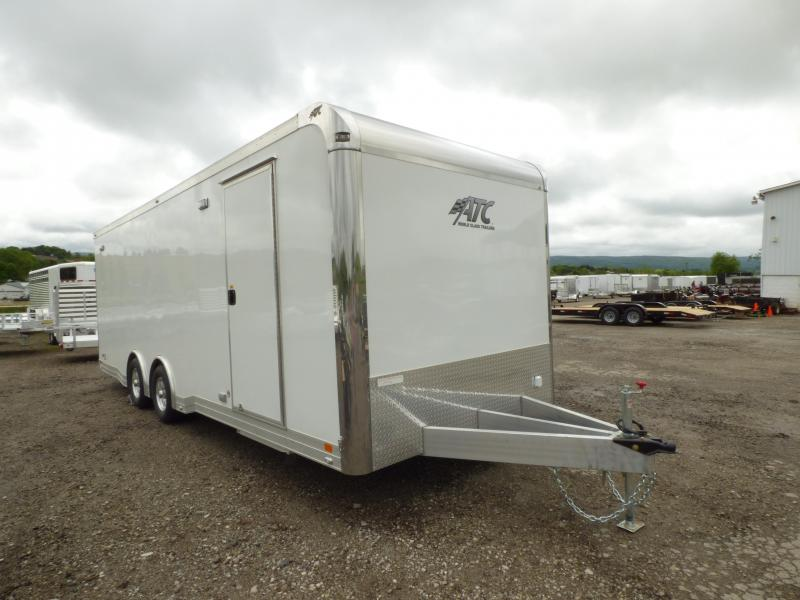 2017 ATC 8.5 x 24 QUEST CAR HAULER CH305 PACKAGE
