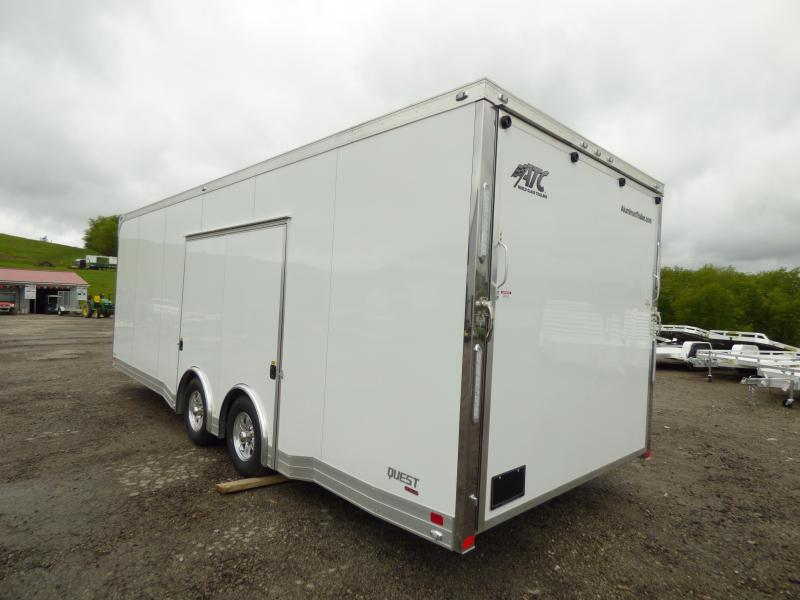 NEW 2017 ATC 8.5 x 24 QUEST CAR HAULER CH305 PACKAGE