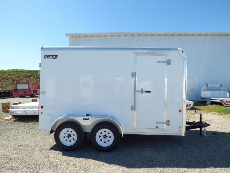 NEW 2018 Car Mate 6X12 HD Sporster Cargo w/ Ramp Doors & 6