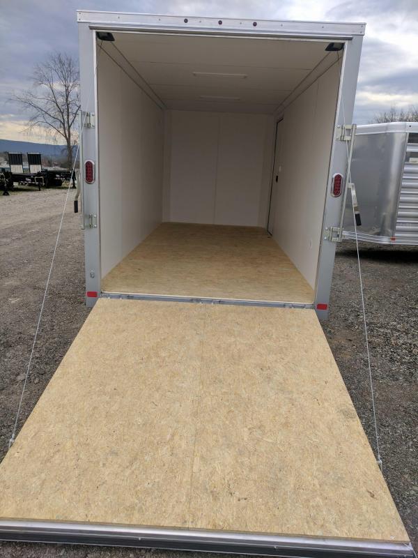 Details & NEW 2017 ATC 7x16 Raven Cargo Trailer w/ Ramp Rear Door \u0026 12 ... Pezcame.Com