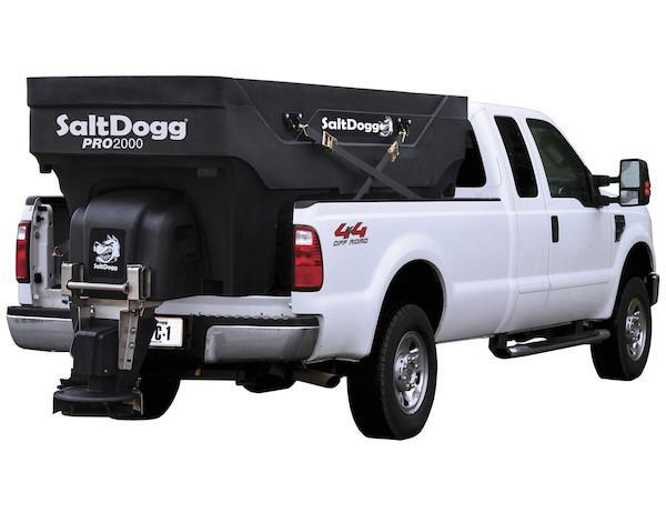 NEW SaltDogg 2.0 Cu. Yd. Poly Hopper Salt Spreader