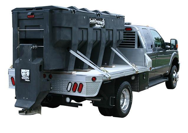 NEW SaltDogg 3.0 Cu. Yd. Poly Hopper Salt Spreader