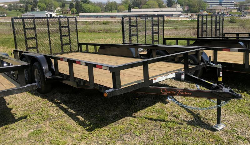 NEW 2018 Quality 7X16 General Duty Utility w/ Spring Assist Gate (NO DOVE)