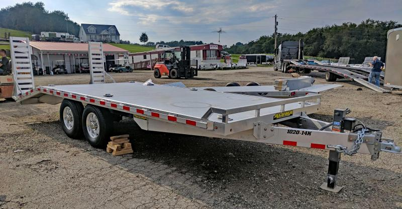 NEW 2018 Aluma 15+5 Deckover Tagalong Trailer
