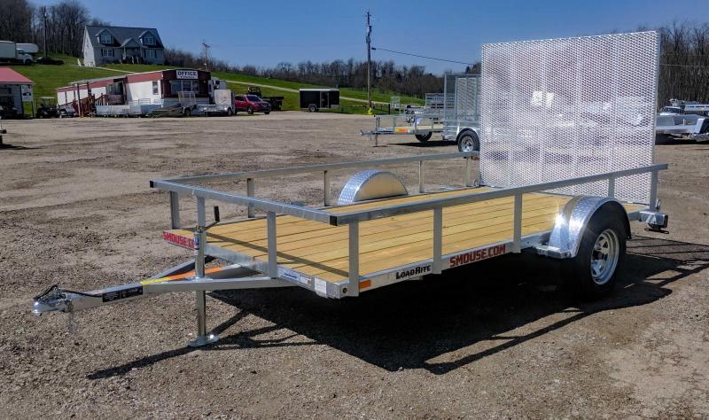 NEW 2018 Load Rite 6X12 Galvanized Utility Trailer w/Spring Assist Gate