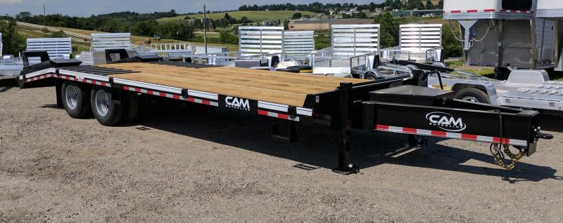 NEW 2018 Cam Superline 20+5 HD Deckover Tagalong Trailer w/ Air Brakes & Self Cleaning BT