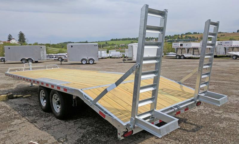 NEW 2017 Load Rite 16+4 Deckover Tagalong Trailer